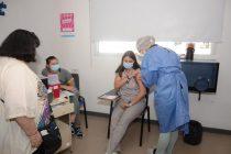 Este sábado se vacunaron alrededor de 200 personas