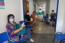 Ya fueron aplicadas en el Hospital de Oncología las 450 dosis destinadas al personal de salud