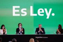 Fernández promulgó la ley y ya rige el aborto legal en Argentina