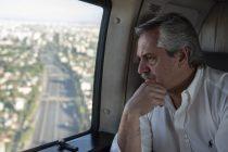 Alberto Fernández alteró su agenda y va al lugar del sismo