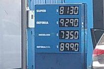 Volvió a aumentar el combustible: Dos aumentos en menos de una semana