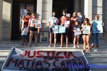 Se movilizaron para pedir justicia por Matias Cabral