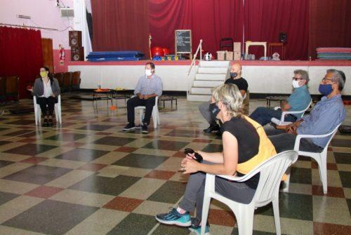 Funcionarios Municipales se reunieron con vecinos de Sierras Bayas