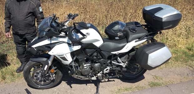motociclista de Olavarría