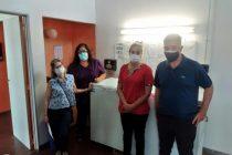 Hospital Municipal: simulacro de corte de luz en el sector donde se almacenarán las vacunas