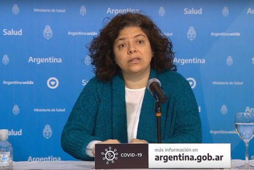 Carla Vizzotti tiene coronavirus y Cafiero se encuentra asilado por contacto estrecho