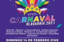 Se suman propuestas interactivas para niños y adultos para el carnaval por streaming