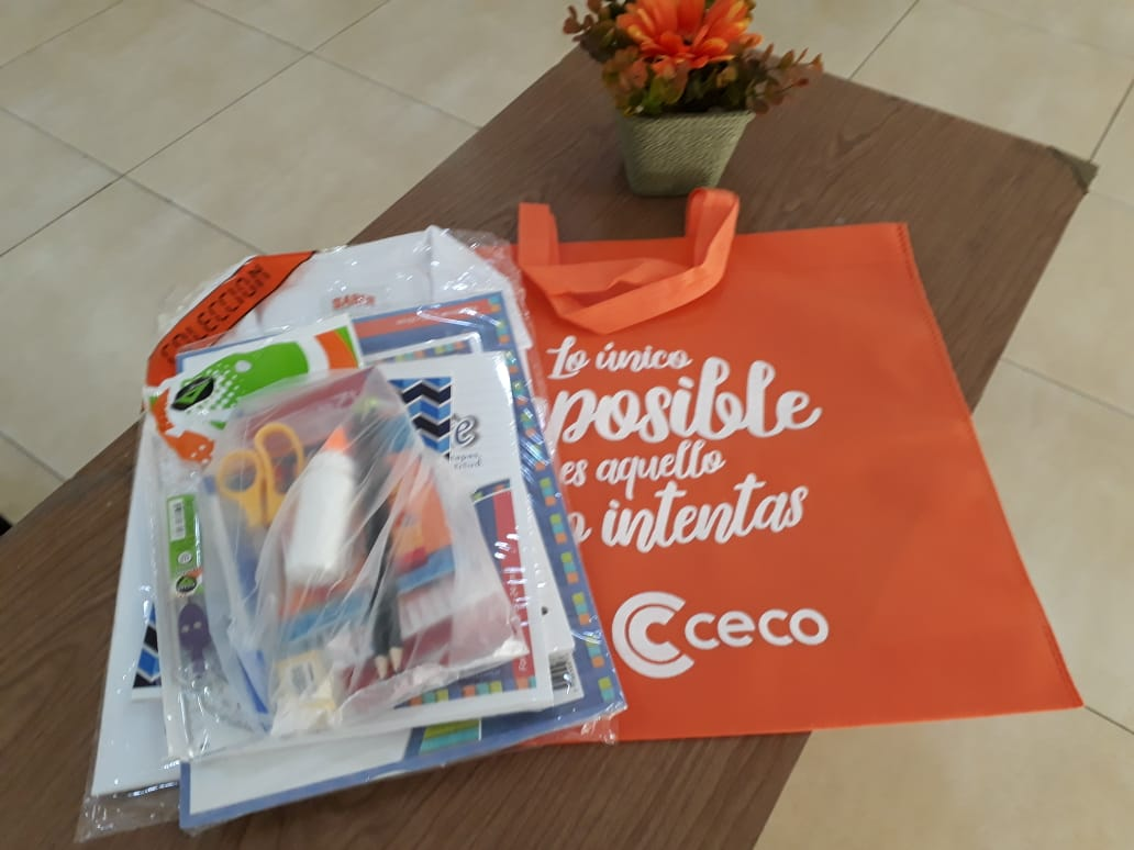 El CECO entregó 450 kits