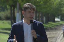 """Kicillof lanzó plan de caminos rurales y dijo que Vidal """"anunció algo que fue puro humo"""""""