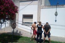 Los aprehendieron por intentar evadir un control vehicular y darse a la fuga
