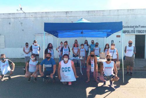Los movimientos populares continúan trabajando en la campaña nacional «Organización comunitaria para la reconstrucción Argentina»