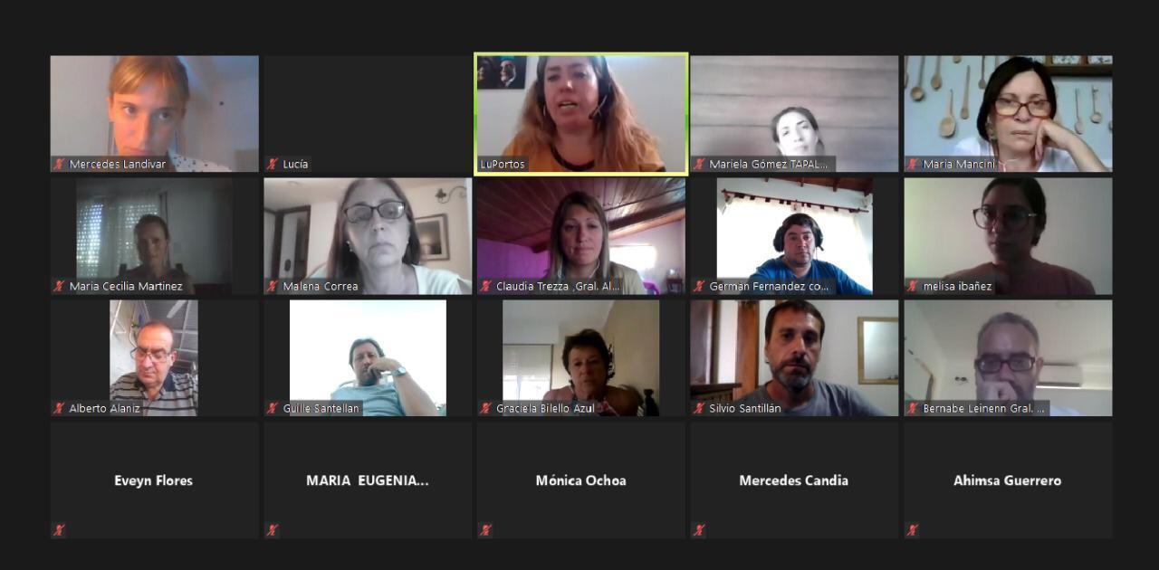 Lucía Portos encabezó un encuentro