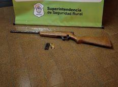 Secuestraron una carabina que fue descartada en la ruta