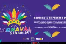 Ya está confirmada la programación para el carnaval en vivo
