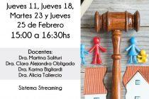 El próximo jueves dará comienzo un ciclo de charlas sobre Derecho de las Familias