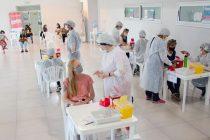 283 personas entre personal docente y sanitario fueron vacunados en la jornada de hoy