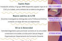 Mes de la Mujer en la FIO: Una nutrida agenda de actividades en conmemoración de las mujeres
