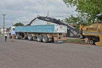 Se puso en marcha la obra de repavimentación de la avenida Ituzaingó