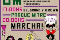 Tribuna docente  y la multicolor convocan al paro por los derechos de las mujeres