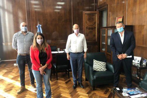 Importantes reuniones de la Unión Industrial de Olavarría con autoridades provinciales y nacionales
