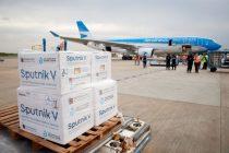 Llegaron otras 500 mil Sputnik V y Argentina supera las 7 millones de vacunas