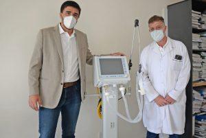 Más equipamiento para el Hospital