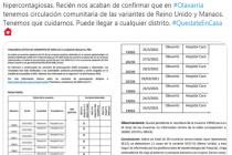 Nicolás Kreplak: «En Olavarría tenemos circulación comunitaria de variantes de covid»