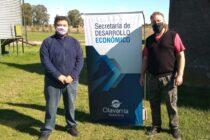 Programa de Apoyo a la Cerámica Artesanal: entrega de materia prima