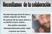 Buscan ayuda para repatriar a un Olavarriense que murió en Brasil