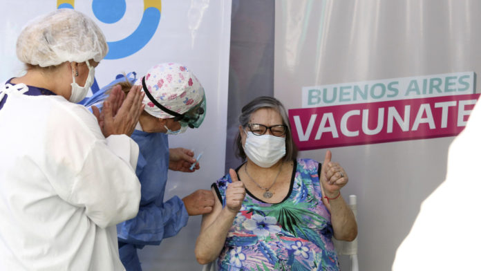 la Provincia ya vacunó más de