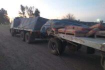 Pehuajó :  Un tren embistió un camión de Olavarría