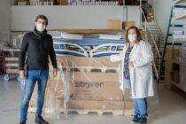 Región sanitaria IX anunció que llegaron dos camas de terapia intensiva