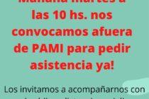 Este martes pedirán en PAMI asistencia por un paciente con ELA