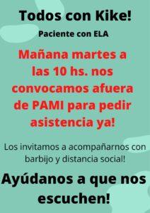 Este martes pedirán en PAMI asistencia