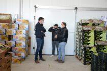 Ezequiel Galli presente en la apertura del centro de distribución de Finca Balcarce