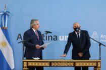 Fernández le tomó juramento al nuevo ministro de Transporte