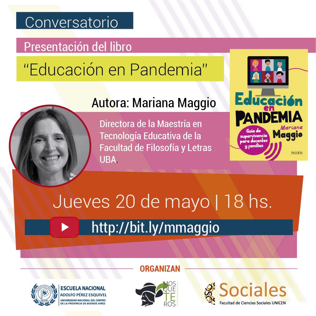 Mariana Maggio presentará el libro