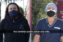 """""""Menos siniestros más camas COVID"""", tercer spot de la campaña seguridad vial en pandemia"""