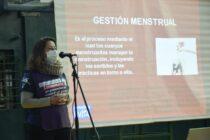 Movimientos populares realizaron una formación en gestión menstrual