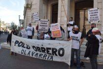 Jornada de lucha, se movilizan para pedir un mejor salario y no a las bajas del potenciar trabajo