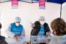 Nuevo récord: 1391 vacunados contra el covid este miércoles
