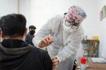 Este lunes la campaña de vacunación provincial aplicó 369 primeras dosis