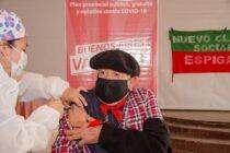 """A partir de mañana la """"Vacunación libre"""" para mayores de 60 años de primeras dosis llega a las localidades"""