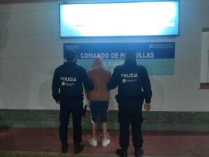 Quiso evadir un control policial