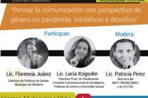 """Conversatorio """"Pensar la comunicación con perspectiva de género en pandemia"""""""