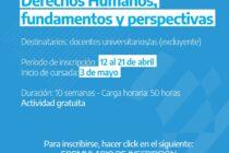 Docentes de Sociales cursan un seminario en Derechos Humanos