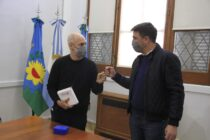 El intendente recibió al jefe de Gobierno de la Ciudad Horacio Rodríguez Larreta