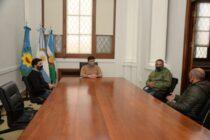 El intendente recibió al presidente de la Sociedad Rural