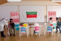 El plan provincial de vacunación contra el COVID estuvo en Espigas
