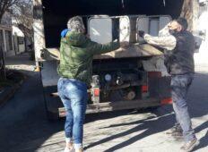 Entregaron mobiliario escolar a instituciones en localidades del Partido